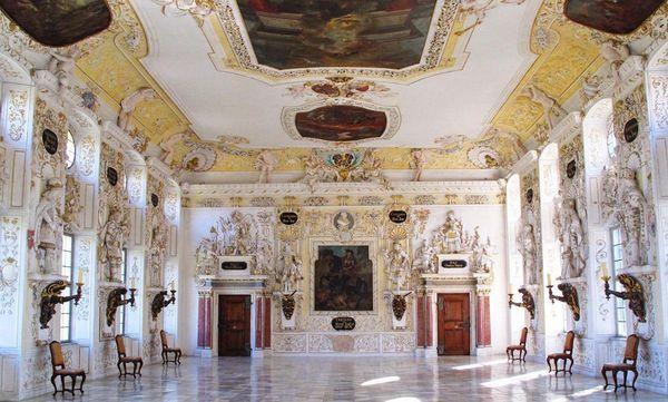 Kaisersaal im Kloster und Schloss Salem; Foto: Staatliche Schlösser und Gärten Baden-Württemberg, Dr. Ulrich Knapp
