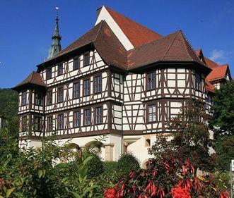 Residenzschloss Urach, Fassade; Foto: Staatliche Schlösser und Gärten Baden-Württemberg, Janna Almeida