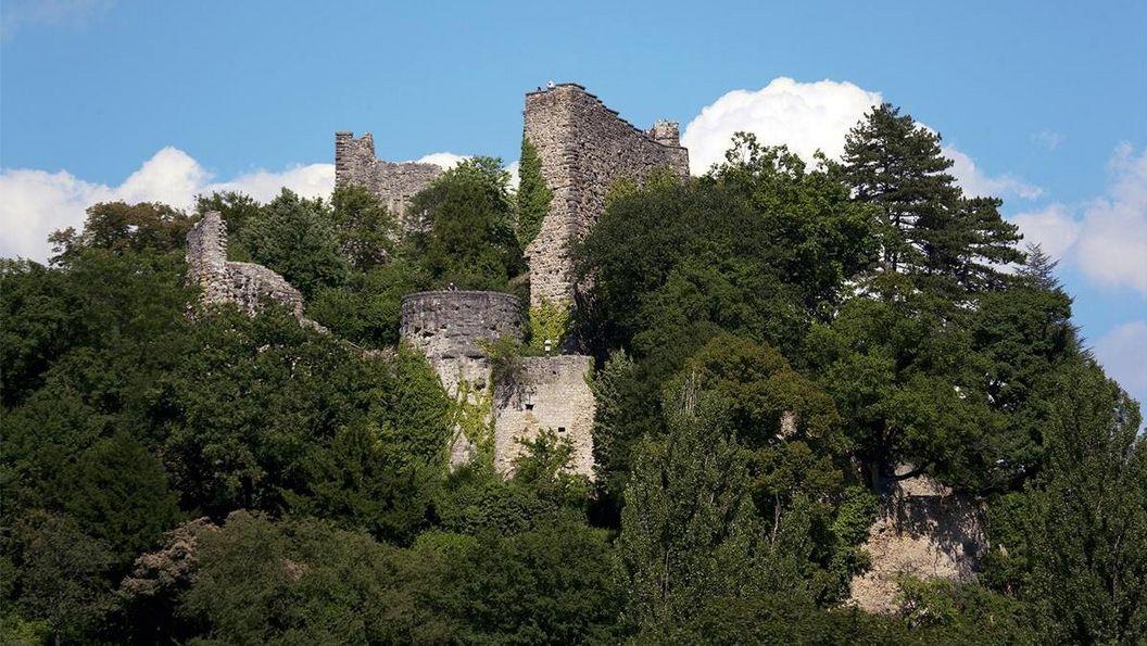 Burg Badenweiler, Außenansicht