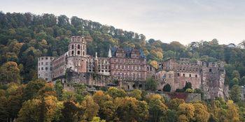 Schloss Heidelberg, Außenansicht