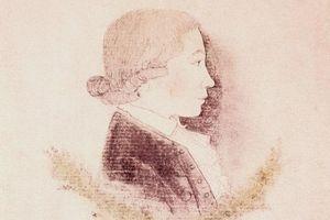 Friedrich Hölderlin: lavierte Federzeichnung von 1786; Foto: Landesmedienzentrum Baden-Württemberg, Dieter Jäger