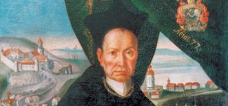 Portrait of Abbot Knittel, Schöntal Monastery. Image: Foto Besserer