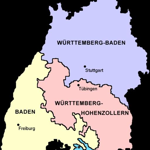 Baden-Württemberg 1945 bis 1952