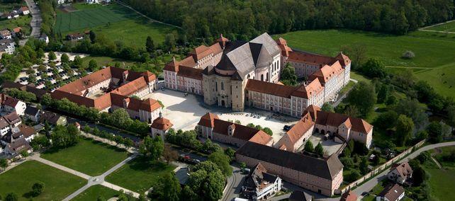 Kloster Wiblingen; Foto: Staatliche Schlösser und Gärten Baden-Württemberg, Achim Mende