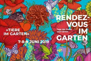 """Werbemotiv der Veranstaltung """"Rendezvous im Garten"""""""