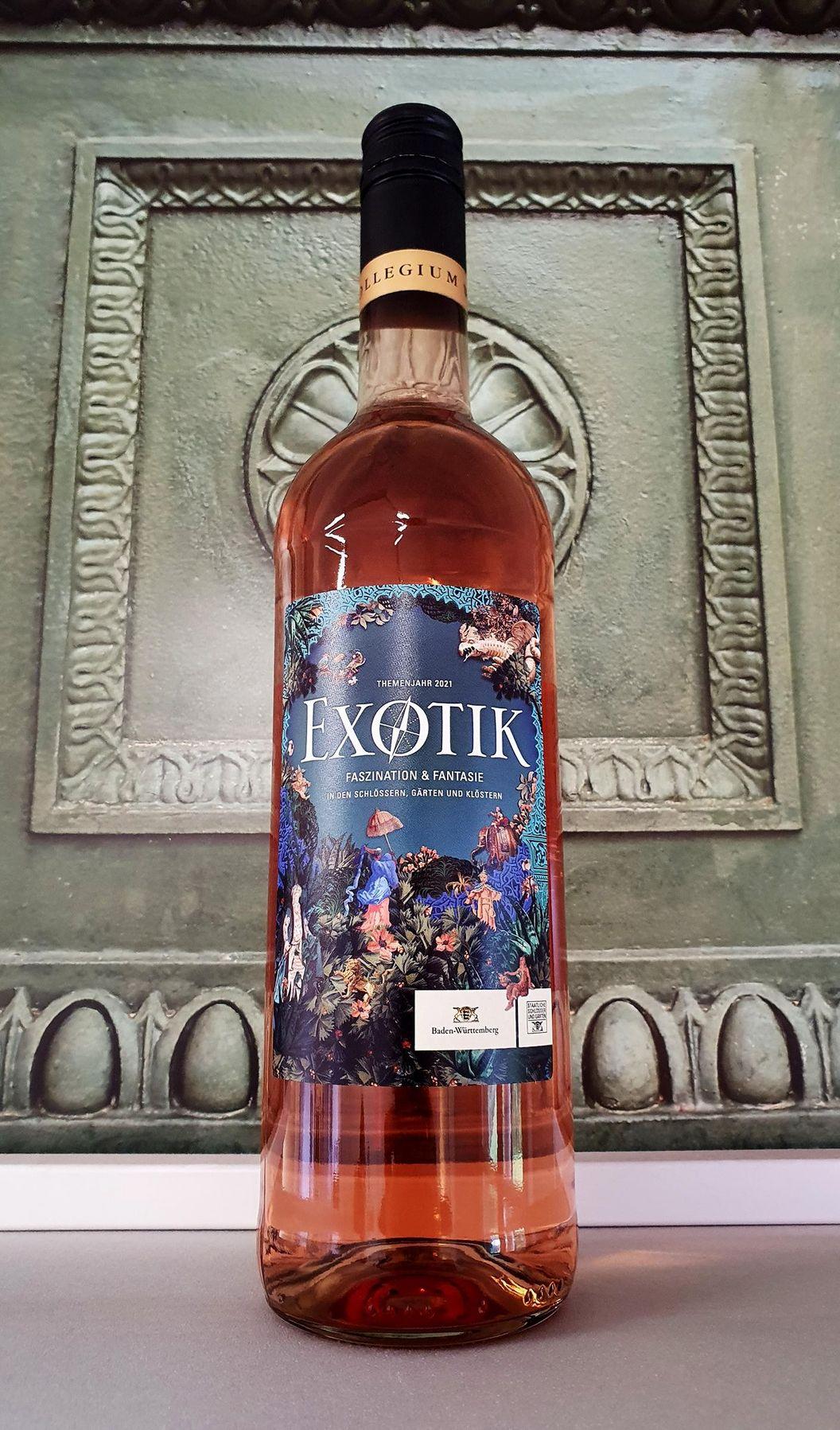 Exotik-Wein, Produkte der Staatlichen Schlösser und Gärten Baden-Württemberg