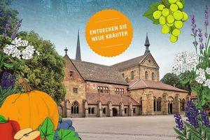 Kloster Maulbronn, Werbemotiv zum 12. Kräuter- und Erntemarkt
