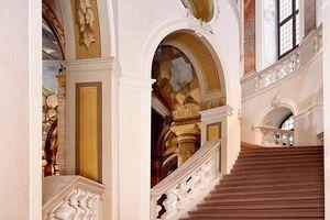 Schloss Bruchsal, Nördlicher Aufgang des Treppenhauses