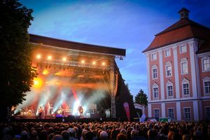 Kloster Wiblingen, Open-Air-Konzert; Foto: SéanDée Photographics