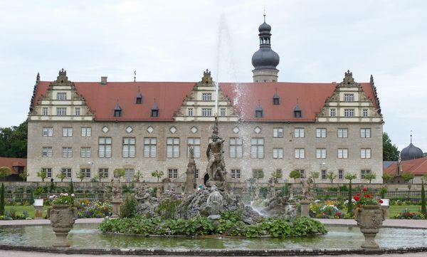 Herkulesbrunnen, Schloss Weikersheim