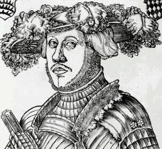Herzog Ulrich von Württemberg, Holzschnitt von Brosamer, um 1530; Foto: Landesmedienzentrum Baden-Württemberg, Robert Bothner