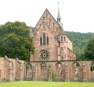 Außenansicht der Marienkapelle von Kloster Hirsau; Foto: Stadtinformation Calw