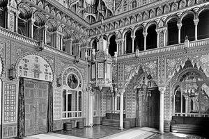 Wilhelma, Maurisches Schloss; Foto: Landesmedienzentrum für Baden-Württemberg, Robert Bothner