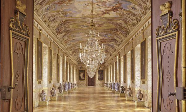 Residenzschloss Ludwigsburg, Ahnengalerie; Foto: Staatliche Schlösser und Gärten Baden-Württemberg, Steffen Hauswirth
