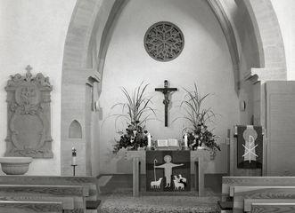 Innenansicht der gotischen Torkapelle Sankt Kilian im Kloster Schöntal; Foto: Foto Besserer