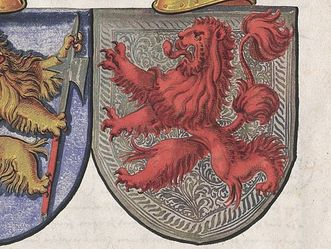 Wappen der Freiherren von Zimmern und der Freiherren von Wartenberg