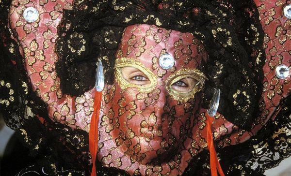 Residenzschloss Ludwigsburg, Venezianische Masken