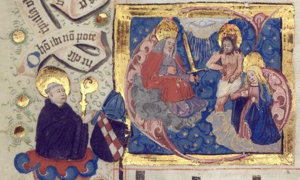 Detail aus Lorcher Chorbuch, Anfang 16. Jahrhundert