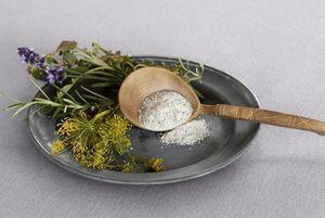 Mittelalterlich angerichtetes Essen