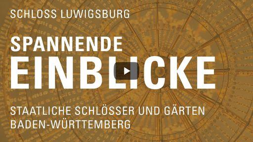 """Startbildschirm des Films """"Spannende Einblicke mit Michael Hörrmann: Residenzschloss Ludwigsburg"""""""