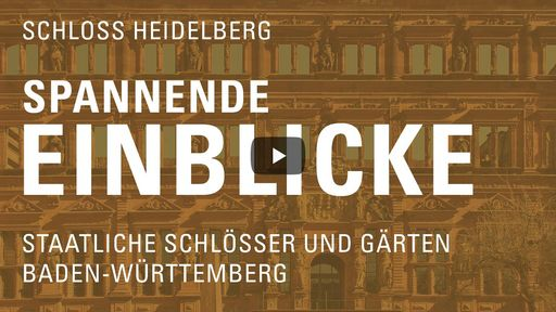 """Startbildschirm des Films """"Spannende Einblicke mit Michael Hörrmann: Schloss Heidelberg"""""""