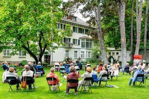 Residenzschloss Mergentheim, Sommerfestival Literatur im Schloss am 9.7.2021