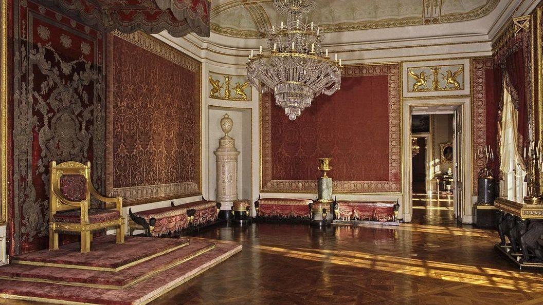 Residenzschloss Ludwigsburg, Königliches Audienzzimmer