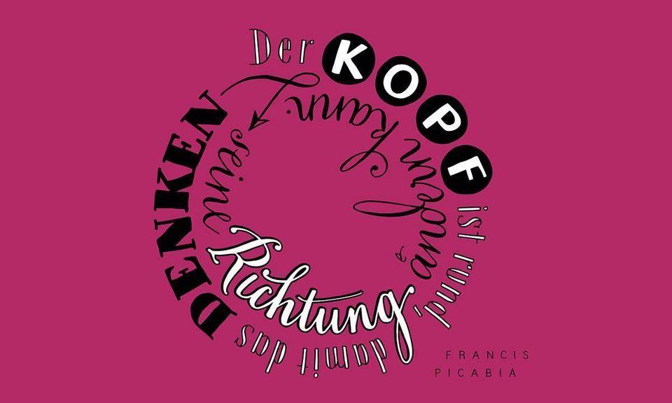 Denkanstoß im Juni, Motiv der Staatlichen Schlösser und Gärten Baden-Württemberg; Illustration: Petra Beiße