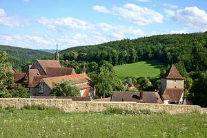 Kloster und Schloss Bebenhausen, Landschaftsaufnahme