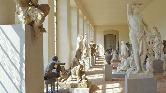 Schloss und Schlossgarten Schwetzingen, Innen, Lapidarium
