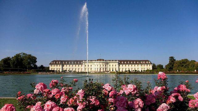 Residenzschloss Ludwigsburg, Teich im Schlossgarten