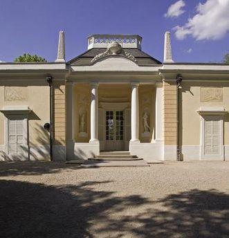 Das Badhaus in Schwetzingen;   Foto: Staatliche Schlösser und Gärten Baden-Württemberg, Arnim Weischer