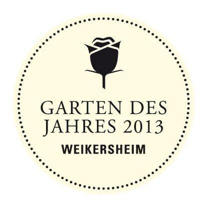 """Auszeichnung """"Garten des Jahres 2013"""" der Staatlichen Schlösser und Gärten Baden-Württemberg"""
