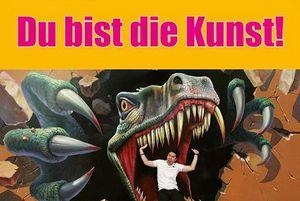 """Werbemotiv zur Ausstellung""""Du bist die Kunst!""""; Foto: Lutz Zimmermann"""