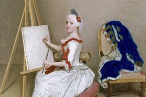 Bildnis der Karoline Luise von Baden