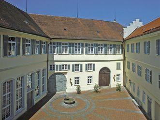 Innenhof Schloss Kirchheim; Foto: Staatliche Schlösser und Gärten Baden-Württemberg, Arnim Weischer