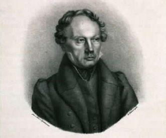 Bildnis Ludwig Uhland, Lithografie um 1850; Foto: Landesmedienzentrum Baden-Württemberg, Dieter Jäger,