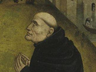 Kloster Schöntal, Christus-Vision des Bernhards von Clairvaux, Tafelbild um 1485