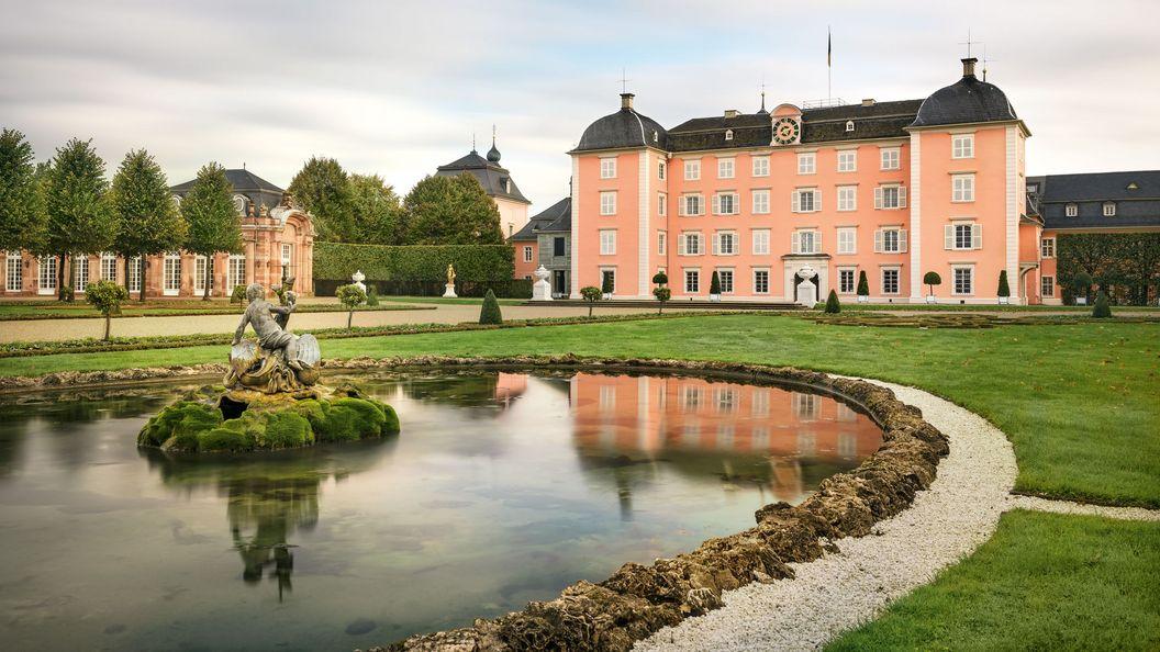 Schloss und Schlossgarten Schwetzingen, Außenansicht