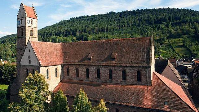 Kloster Alpirsbach, Luftaufnahme