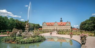 Château et Parc de Weikersheim Façade du château