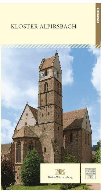 Titel des Kunstführers zu Kloster Alpirsbach; Gestaltung: Staatliche Schlösser und Gärten Baden-Württemberg, JUNG:Kommunikation GmbH