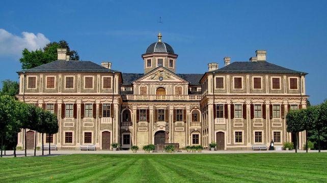 Schloss Favorite Rastatt, Außenaufnahme