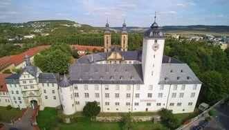 Residenzschloss Mergentheim, Luftansicht