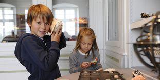 Kinder im Klostermuseum, Kloster Schussenried