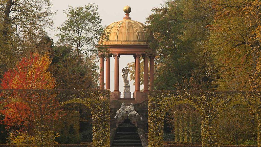 Apollotempel im Schlossgarten Schwetzingen