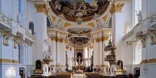 Kloster Wiblingen, Innenansicht