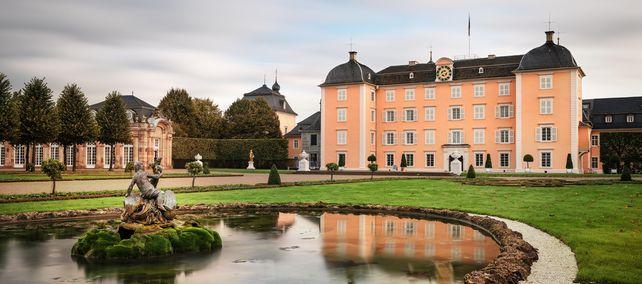 Schloss und Schlossgarten Schwetzingen; Foto: Staatliche Schlösser und Gärten Baden-Württemberg, Günther Bayerl