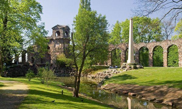 Schloss und Schlossgarten Schwetzingen, Römische Wasserleitung