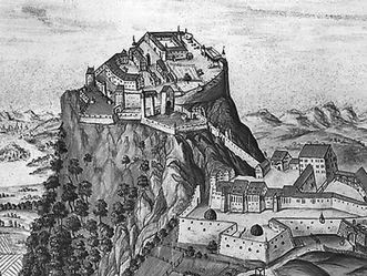 Hohentwiel, Aquarell, um 1730